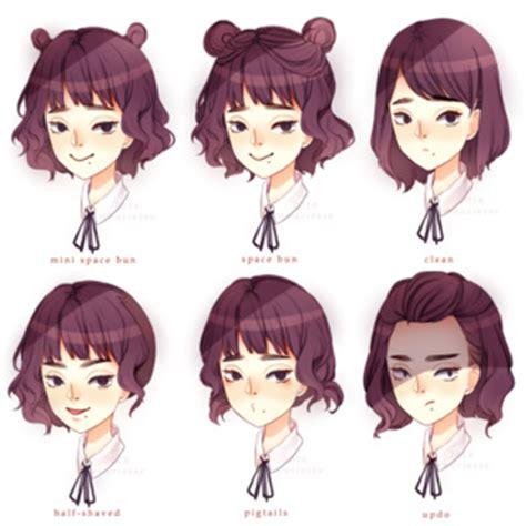 Kawaii Hairstyles by Kawaii Hairstyles Drawing