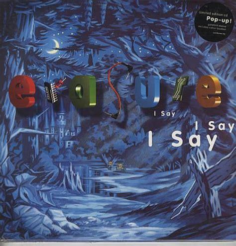 Erasure Nightbird Vinyl - erasure i say i say i say sealed uk cd album cdlp 346540