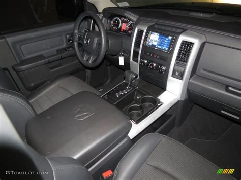 slate gray interior 2012 dodge ram 1500 sport r t