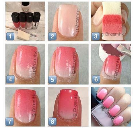 tutorial nail art ombre the ombre craze omg trends