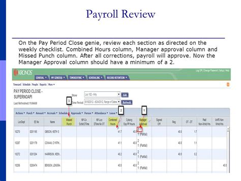 Payroll Section by For Payroll Administrators Hourly Employees Weekly Pay