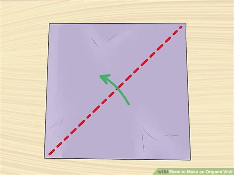 How To Make A Origami Wolf Step By Step - how to make an origami wolf with pictures wikihow