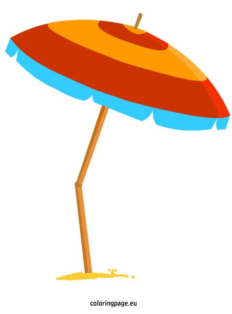Surf The Web With The Umbrella by Sea Clipart Umbrella Pencil And In Color Sea Clipart