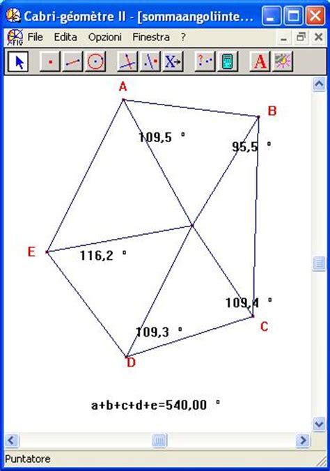 somma degli angoli interni di un pentagono sommaangoliinternipoligono