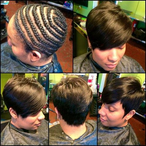 short black hair sew ins 25 best ideas about short weave styles on pinterest
