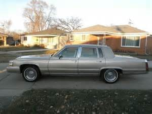 Cadillac Brougham 1992 Purchase Used 1992 Cadillac Brougham Rwd 5 7 Liter In
