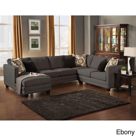 best deals on sectional sofas zeal lavish contemporary 3 fabric upholstered