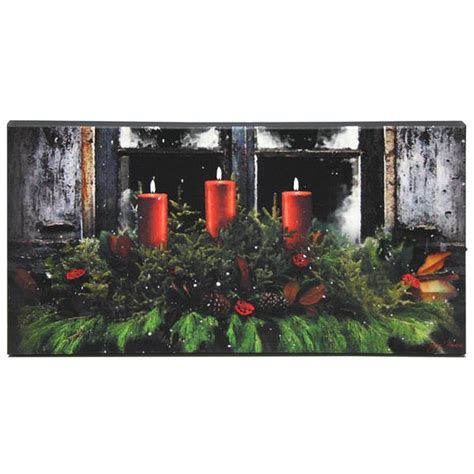 ohio wholesale lighted canvas ohio wholesale 46638 winter season lighted canvas