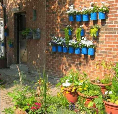 home garden decoration how to decorate garden brick wall 5 ideas to make it
