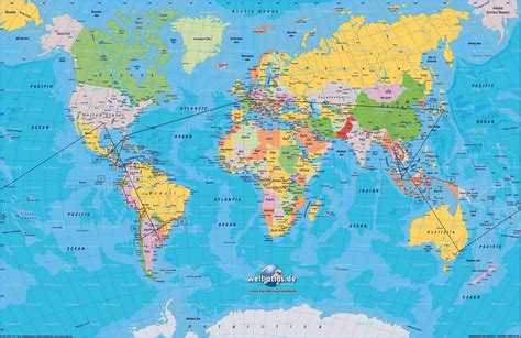 travel maps   world