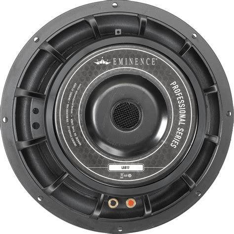 Speaker Subwoofer 500 Watt speaker eminence 174 pro 12 quot lab 12c 500 watts antique