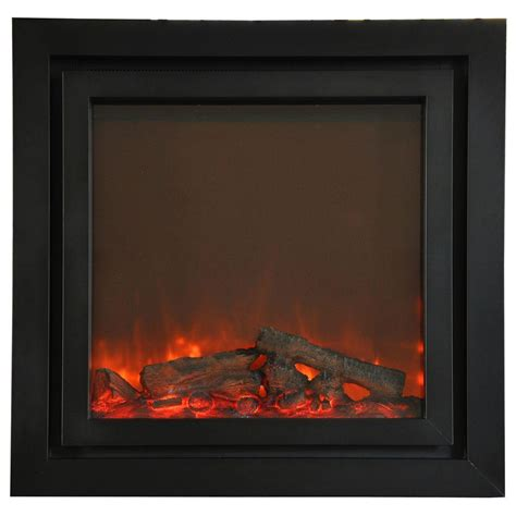 dual fireplace insert yosemite home decor perseus 49 in surround