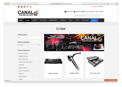 canal sound and light wwwebtek launches new and improved canal sound light