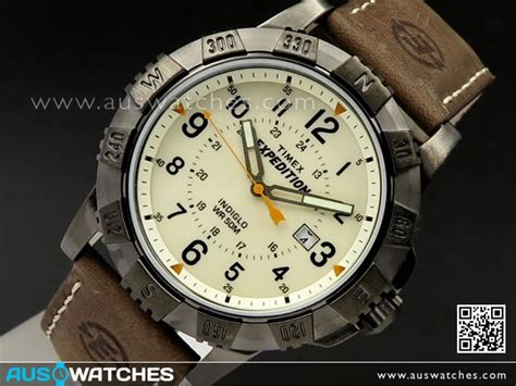 timex expedition rugged field buy timex indiglo expedition rugged metal field leather mens t49990 buy watches