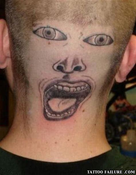 crazy face tattoos 25 fairly stupid fails snappy pixels