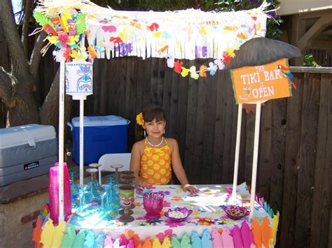 themed parties for bars tiki theme party ideas kids art decorating ideas