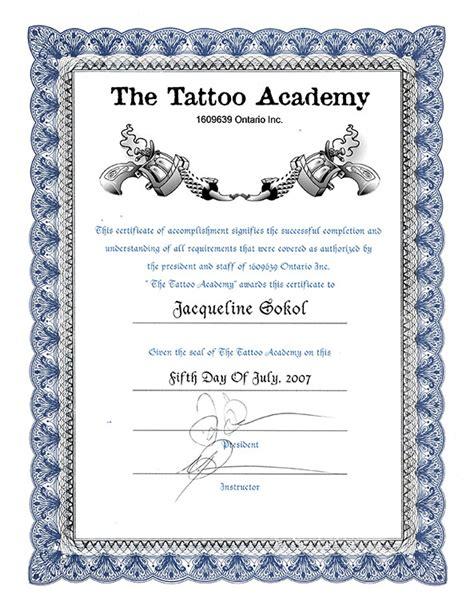 tattoo certification online so kool tattoos the artist