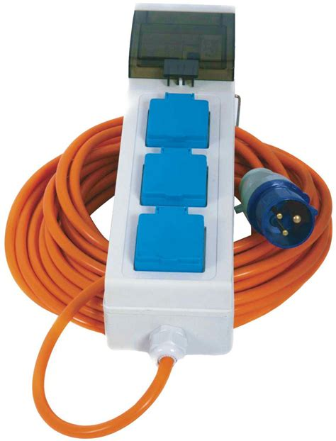 ebay site not mobile 3 way mobile mains power unit 20 meter cable for caravan