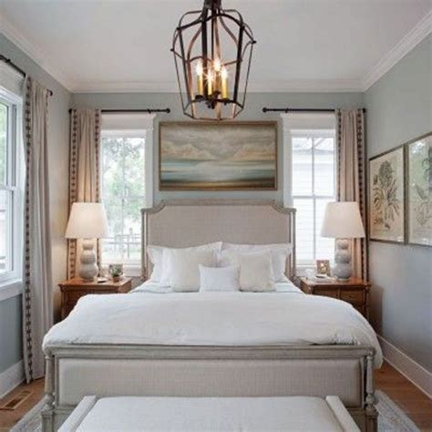 Small Master Bedroom Decorating Ideas by Antique Pendant Light Decor Above Unique Beds Ideas For