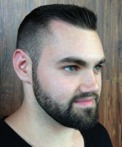 fading sideburns into beard 70 stunning comb over fade hairstyle ideas for men 2017