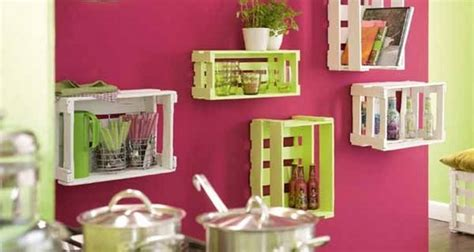 decorating your home upcycling wooden crates cool ideas to decorate your home