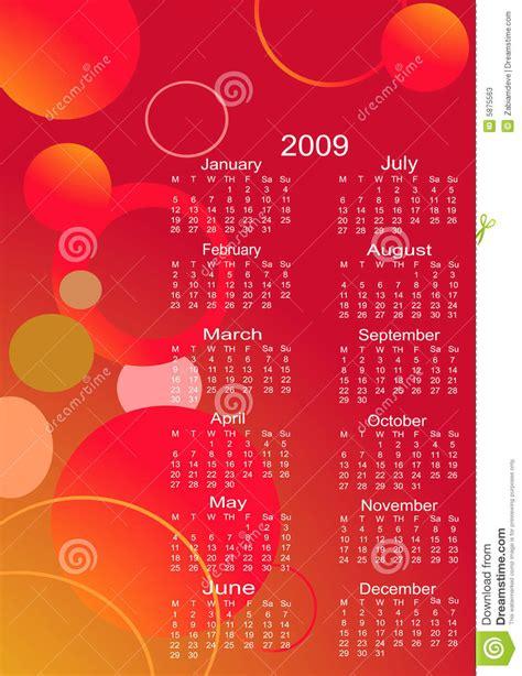 Next Year Calendar Calendar For The Next Year Stock Photos Image 5875563