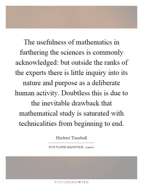 Mathematics Is The Of Sciences Quote