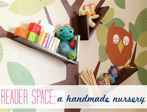 Handmade Things To Decorate Your Room With - iheart organizing reader space a handmade nursery