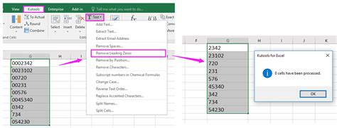 excel 2007 leading zero format convert number to text in excel with leading zeros