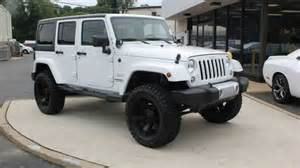 White Jeep Wrangler Unlimited New 2015 Jeep Wrangler Unlimited Bright White