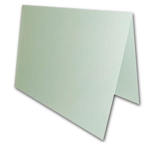 a1 note card template blank metallic pale blue a1 cards for thank you notes and