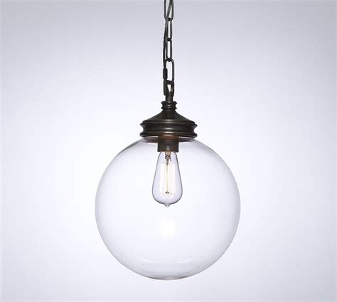 Pottery Barn Lighting Pendant Calhoun Glass Pendant Pottery Barn Midcentury Pendant Lighting By Pottery Barn