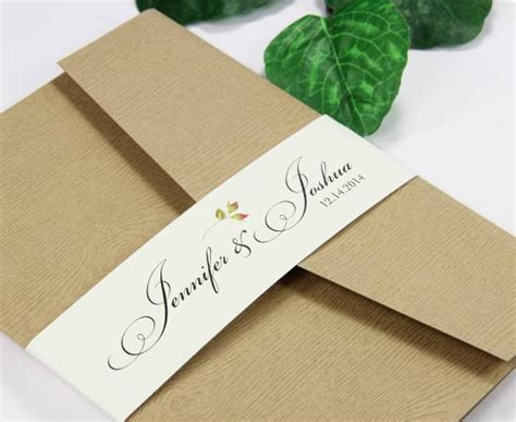 Invitation Band Template Invitation Belly Bands Paper Bands To Wrap Invites
