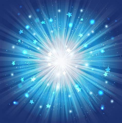Blue Burst blue background vector pics about space
