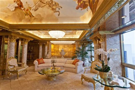 trump gold house inside donald and melania trump s manhattan apartment