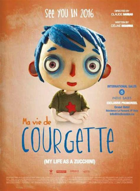 my as a ma vie de courgette my as a zucchini 2016 theatrical