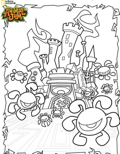 animal jam coloring pages eagle free coloring pages of animal jam