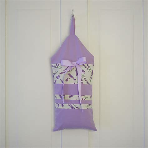 hanging lavender closet sachet lavender green