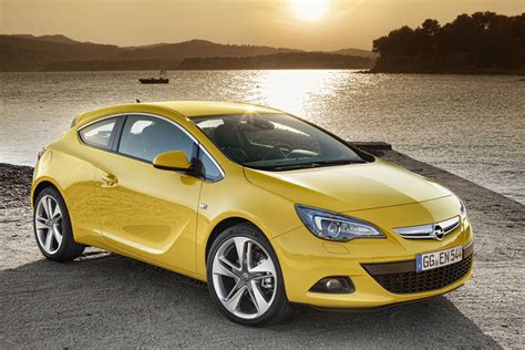 opel vauxhall opel officially reveals 2012 astra gtc high po opc coming