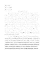 Araby Setting Essay by Reading Essay Araby Johannes Molly Johannes 200 Dr Timothy