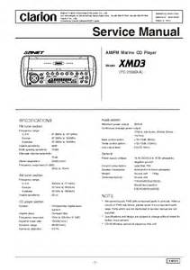 clarion xmd3 xmd 3 manual wiring diagram ipod installation for picture images frompo