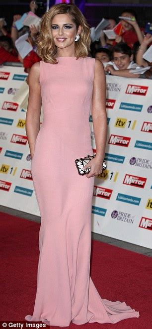 Cheryl Cole dazzles in Victoria Beckham dress on Pride Of Britain Awards red carpet Daily Mail