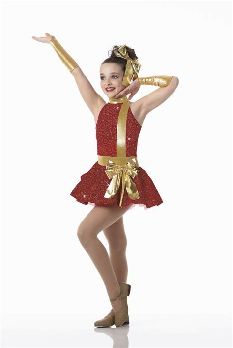 christmas attire for dance contest all wrapped up glitz velvet tap dress costume groups child ebay