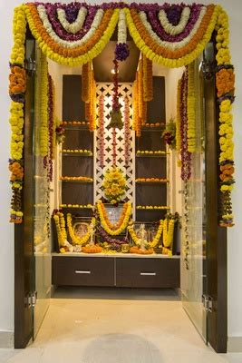 Best Colour for Pooja Room, Color Combination, Puja Room
