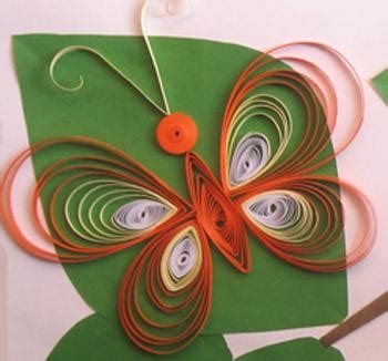 Easy Arts And Crafts For With Paper - easy paper quilling butterfly for ideas arts and