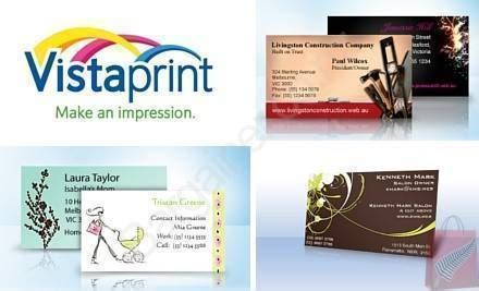 vista prints free business cards vistaprint 500 premium business cards just 9 99