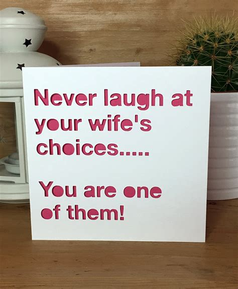 Wedding Anniversary Quotes Jokes by Anniversary Card Wedding Anniversary Husband
