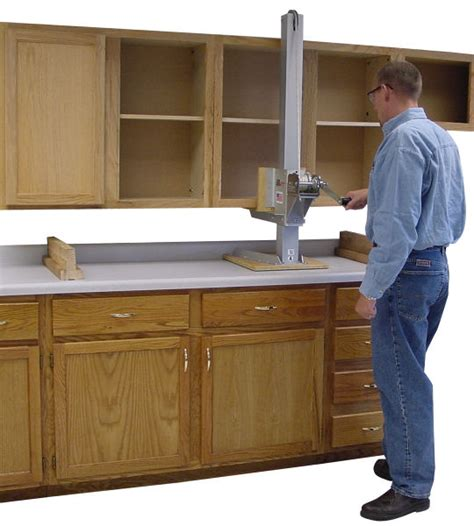 how to install upper kitchen cabinets the original gillift 174 cabinet lift kit by telpro