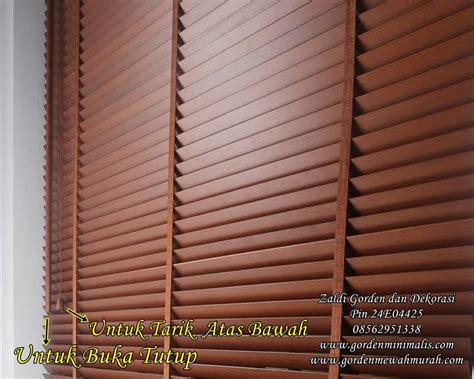 Tirai Kayu Tirai Kayu Krey Kayu Outdoor Maupun Indor Gorden Kayu