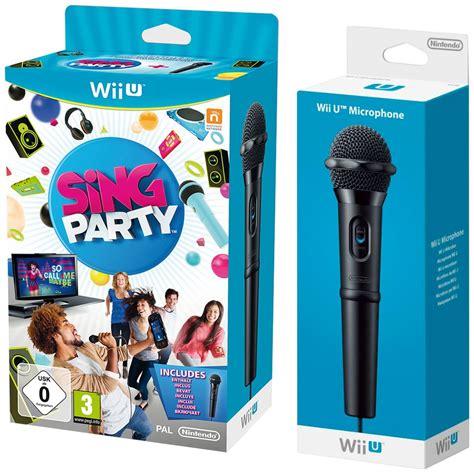 Wii U Voice Bundle With Microphone wii u sing 2 wii u microphones nintendo official uk store